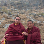 with H.H. Khamtrul Rinpoche