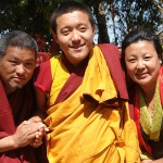 with Khyentse Yaangsi Rinpoche and Doma la