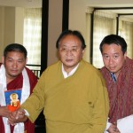 with Kyabje Sogyal Rinpoche