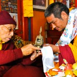 with Kyabje Soktse Rinpoche