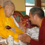 with Kyabje Yangthang Rinpoche